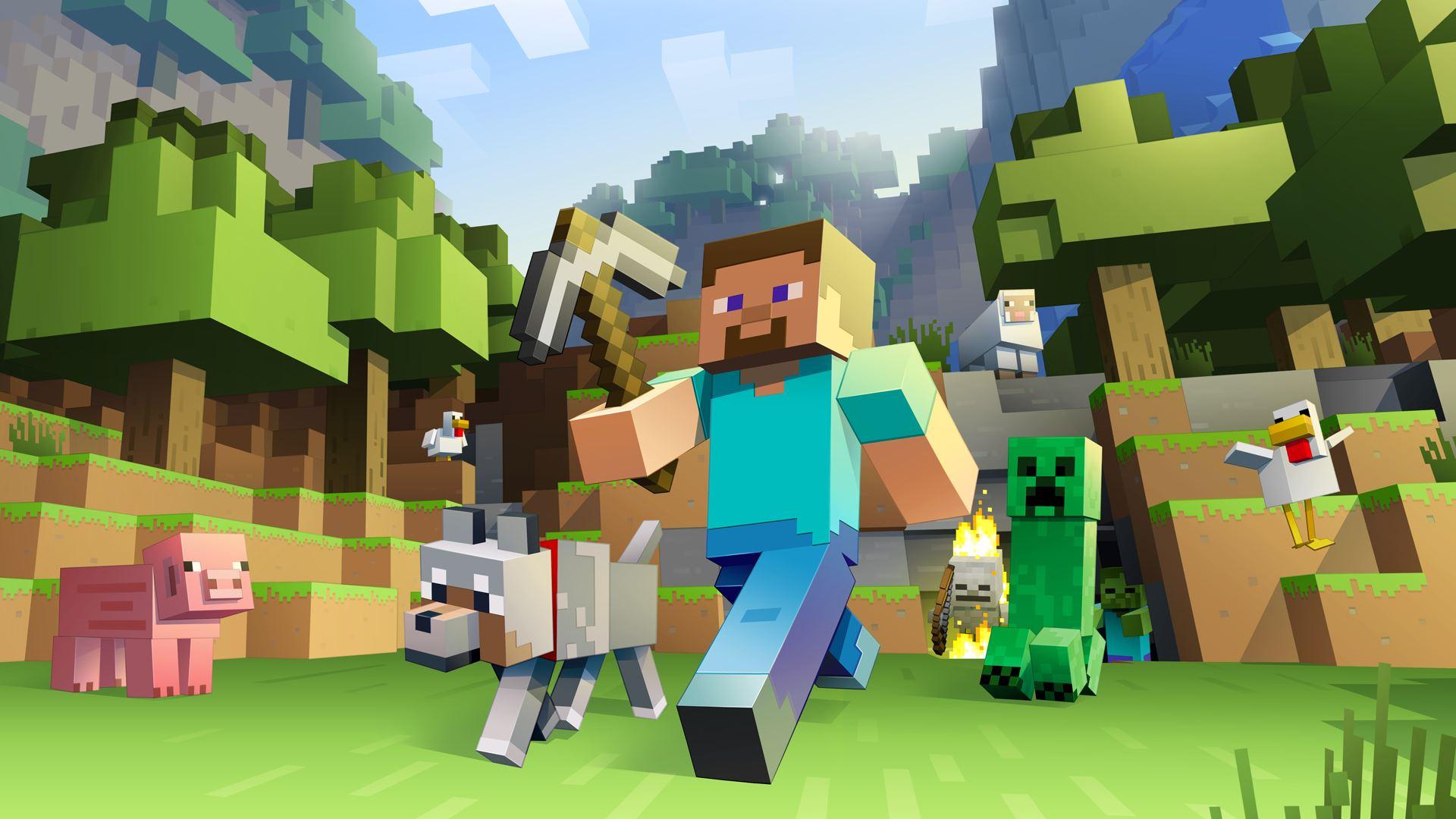 Minecraft / Обои на рабочий стол, заставки, картинки