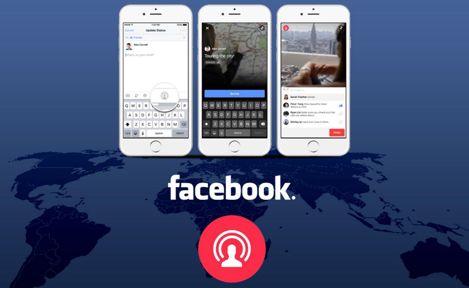 Facebook Canlı Yayın Özelliği Android Cihazlarda