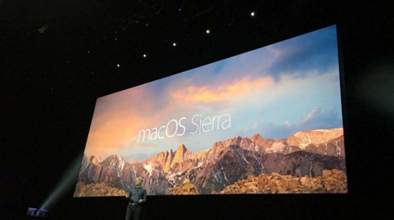macOS Sierra Özellikleri