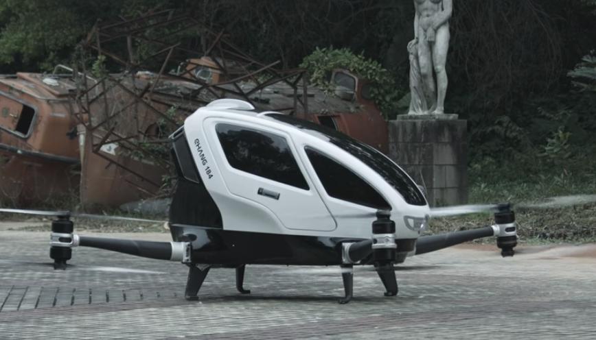 Yolcu Taşıyabilen Drone