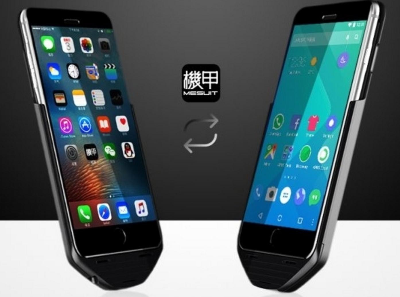 iPhone Android Dönüştüren Kılıf Satışa Çıktı!