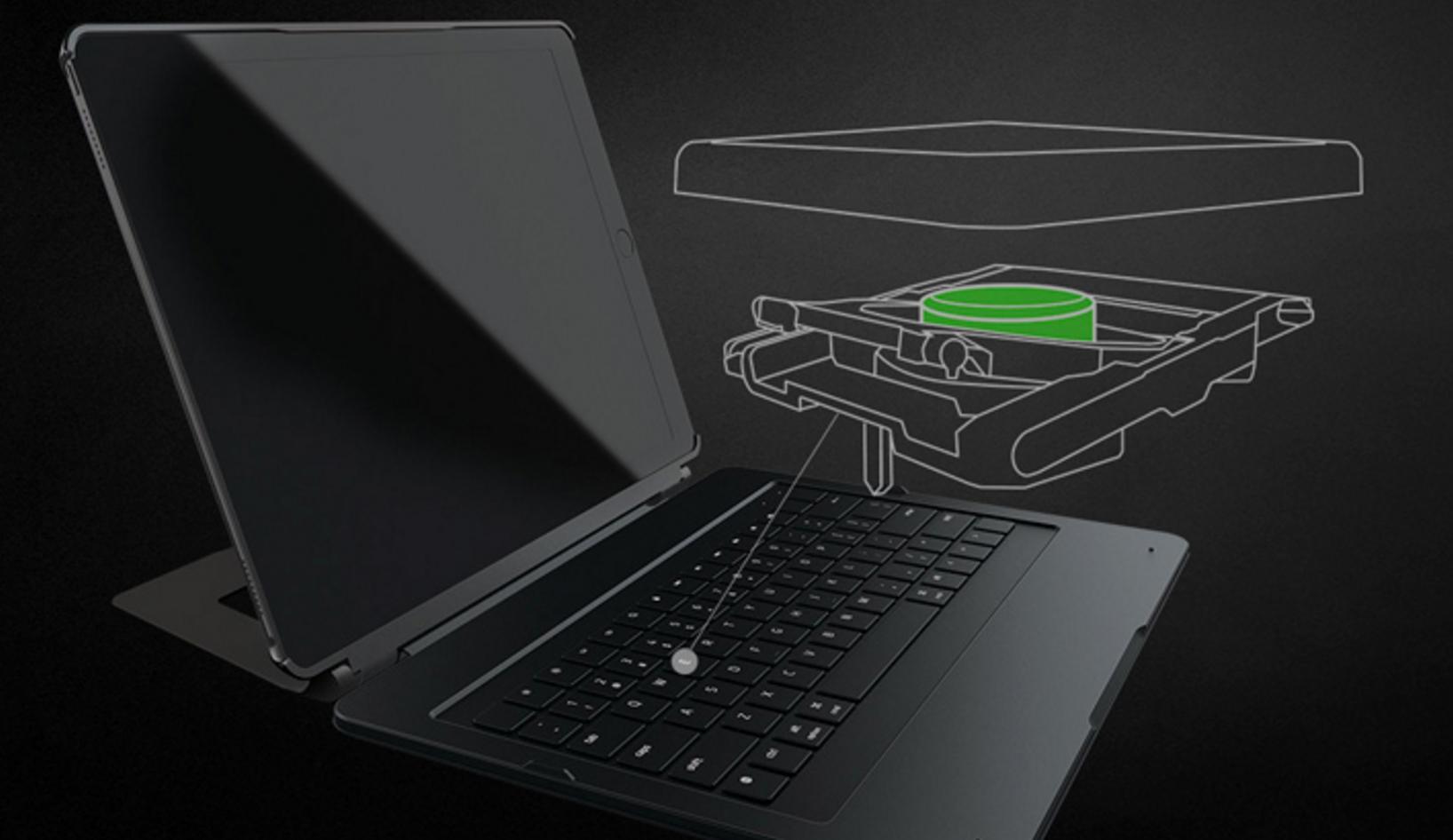 Razer iPad için Mekanik Klavyeli Kılıf Üretti!