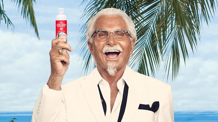 KFC Kızarmış Tavuk Kokulu Güneş Kremi Dağıtıyor!