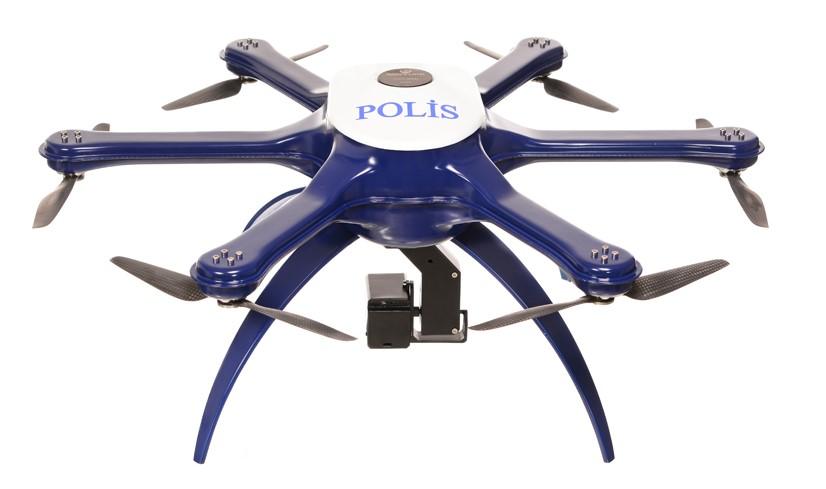 Türk Polisine Yardımcı Yerli Drone