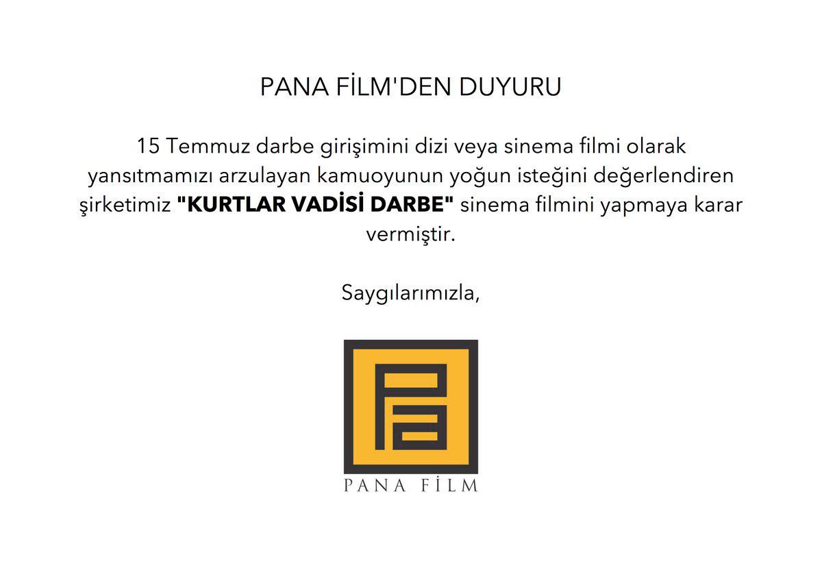 Kurtlar Vadisi Darbe Domaini 18 Mayıs Tarihinde Alınmış!