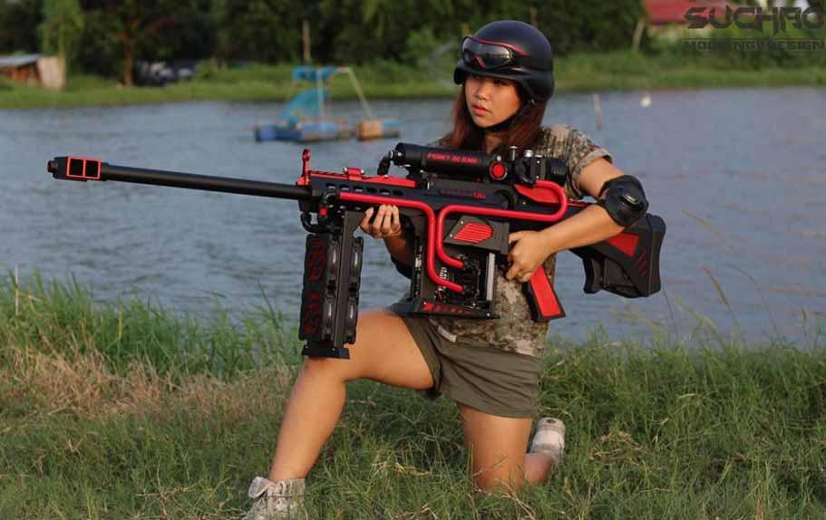 Silah Görünümlü Kasa Tasarımı