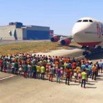 GTA 5'te 100 Kişi Bir Uçağı Durdurabilir Mi