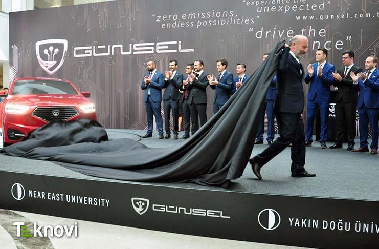 """Yavru Vatan'dan """"Günsel Model 1"""" ilk Yerli Otomobil!"""