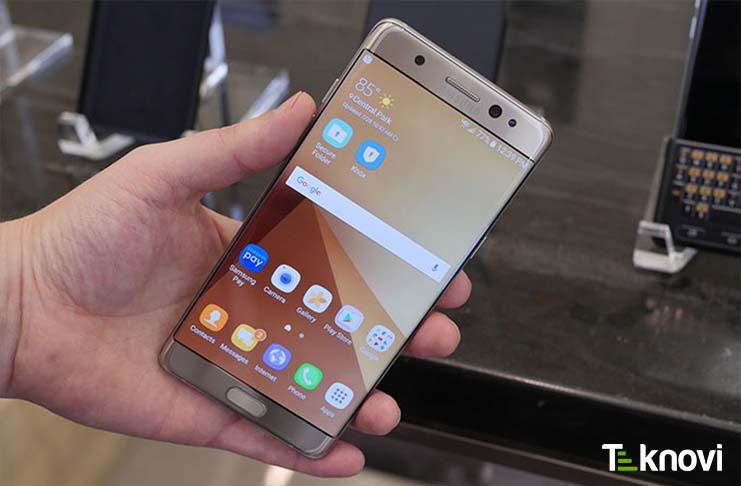 Samsung Galaxy Note 7 Üretimini Durdurdu