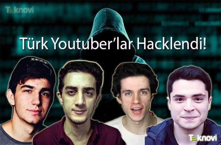 Türk Youtuber'ların Hesapları Hacklendi!
