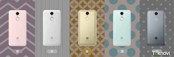 Huawei Enjoy 6 renkleri