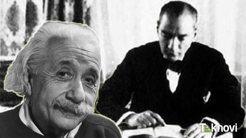Einstein'in Mustafa Kemal Atatürk'e Yazdığı Mektup