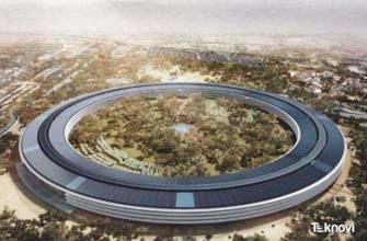 Apple Campus 2'nin Ekim Ayı Drone Görüntüleri