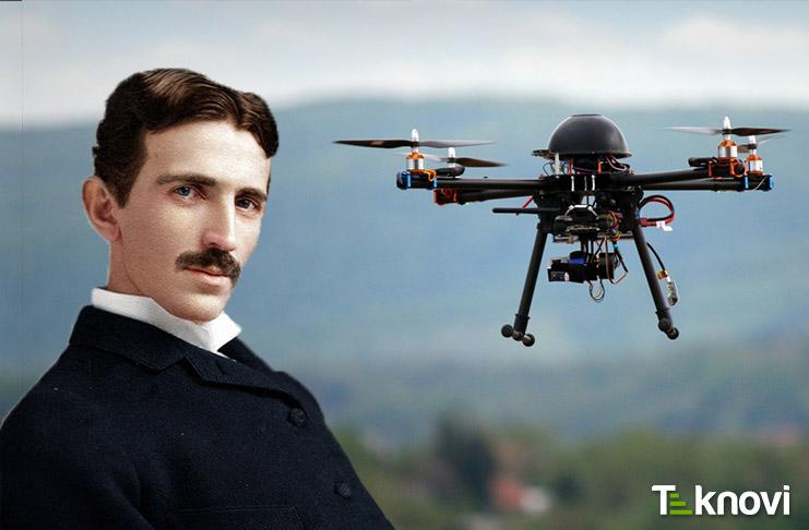 Tesla'nın icadı Drone'ları Havadayken Şarj Edecek