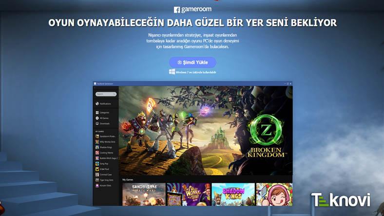Facebook Oyun Platformu Gameroom