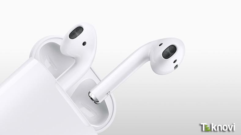 Apple'ın Kablosuz Kulaklığı AirPods Satışa Çıktı