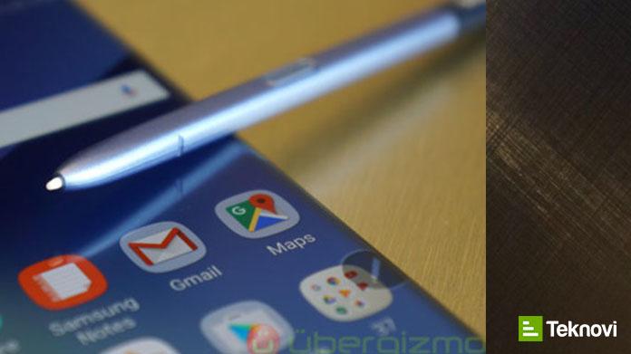 Galaxy S8 SPen ile Gelebilir