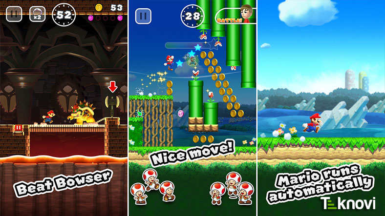 iOS için Super Mario Run Sonunda Çıktı