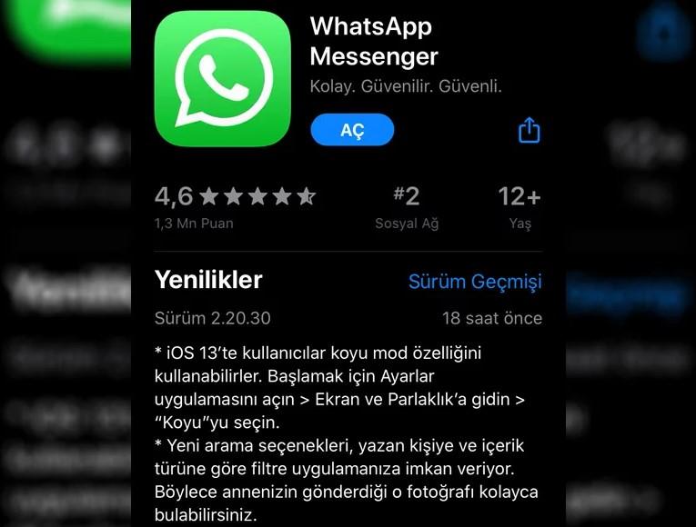 Whatsapp Karanlık Modu Nasıl Açılır?
