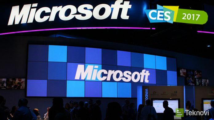 Microsoft CES 2017'de Neler Tanıtıyor