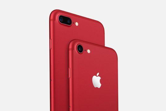 Kırmızı iPhone 7 Modelleri