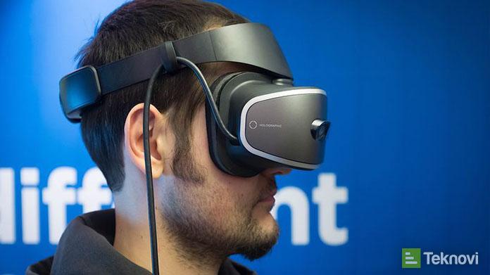Lenovo Hologram Destekli Sanal Gerçeklik Gözlüğü Tanıttı