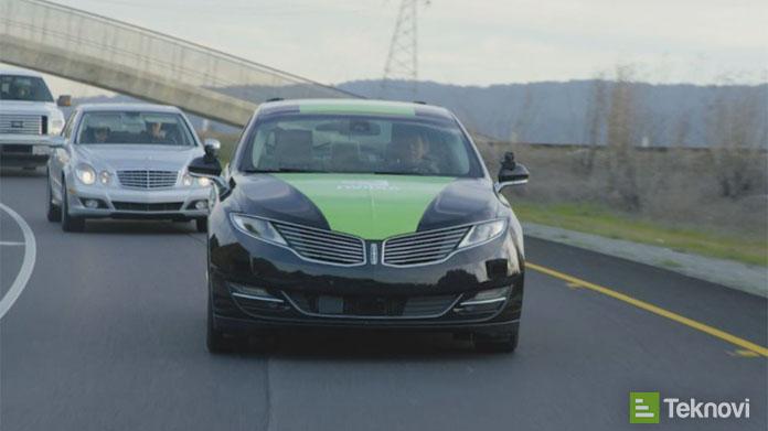 Nvidia Sürücüsüz Otomobil Üretiyor