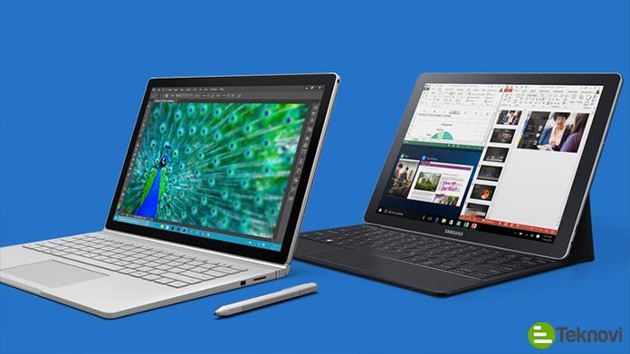 Samsung'dan Windows 10 İşletim Sistemli Tablet: Galaxy Book!