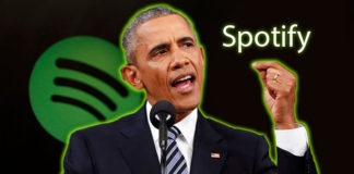 Obama'ya Spotify'dan iş Teklifi Geldi!