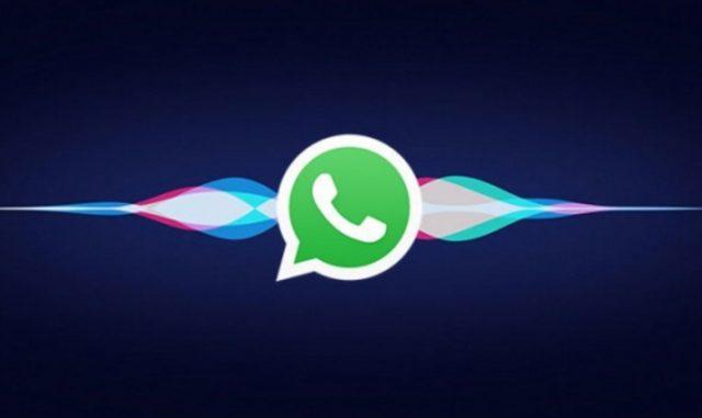WhatsApp'a Siri Desteği Geldi