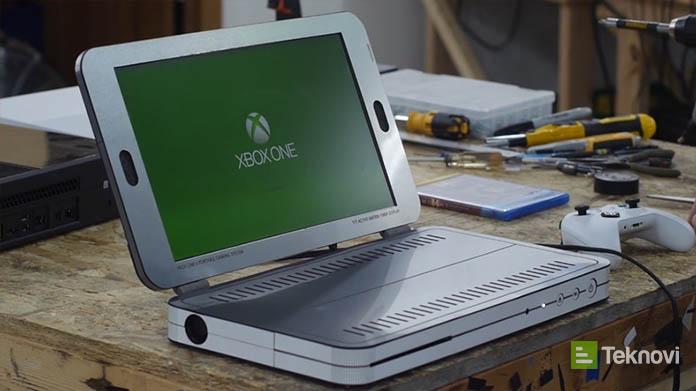 Dizüstü Bilgisayar Şeklinde XBox One S Tasarladı!